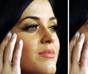 Retouches de star : Katy Perry photoshoppé pour avoir une peau sans défaut