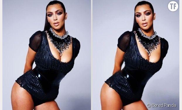 Kim Kardashian : ses vergetures retouchées malgré elle