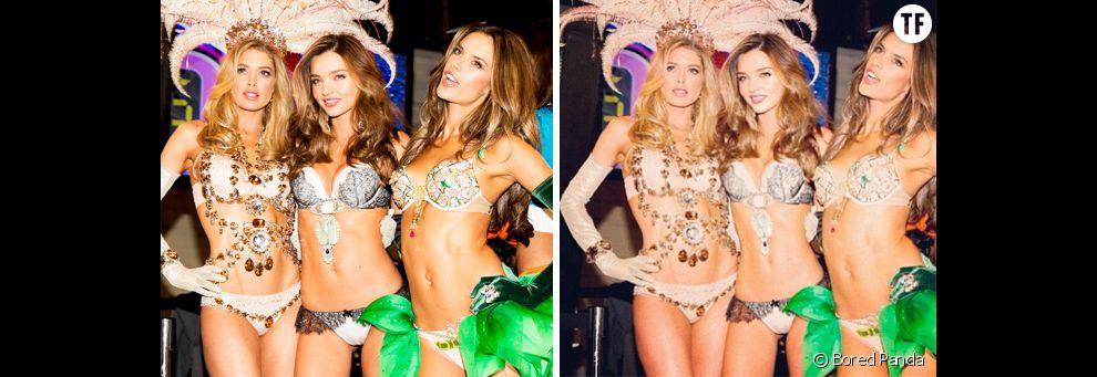 Photoshop : le corps de Miranda Kerr retouché