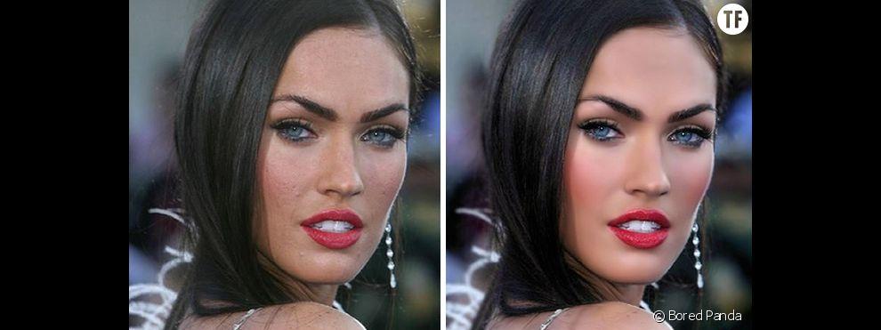 Photoshop et retouches des photos de stars : avant/après