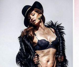 Avant/après Photoshop : la photo retouchée de la mannequin de 48 ans, Cindy Crawford