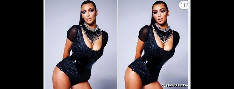 Kim Kardashian : sa cellulite et ses vergetures gommées sur Photoshop !