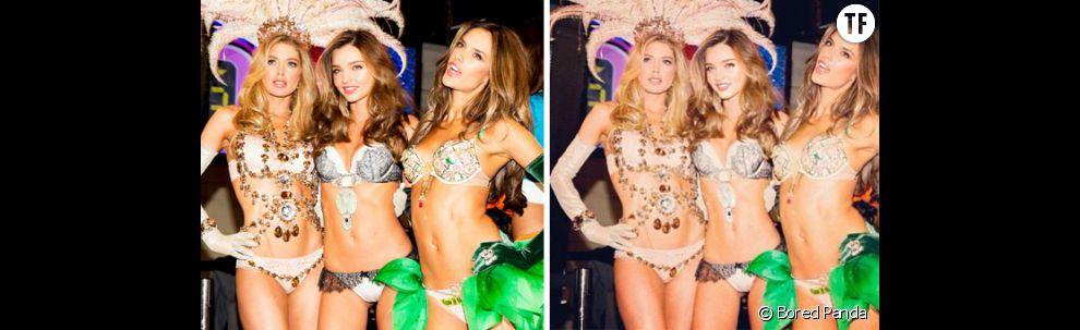 Miranda Kerr : la plus célèbre des Anges affinée à outrance sur Photoshop