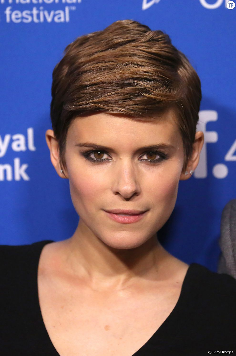 kate mara et sa coupe la gar onne tr s bien ma tris e. Black Bedroom Furniture Sets. Home Design Ideas