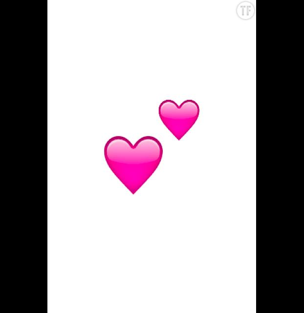 Emoji Instagram : plein d'amour