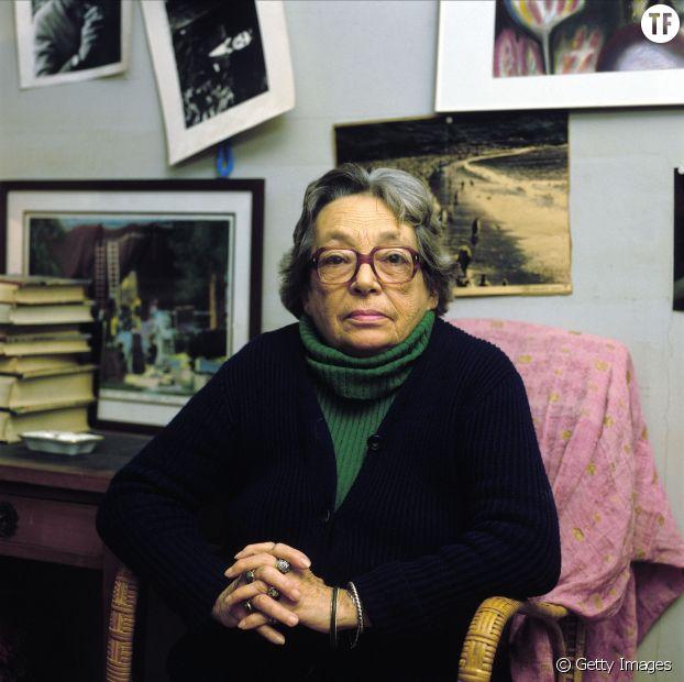 Marguerite Duras en octobre 1984