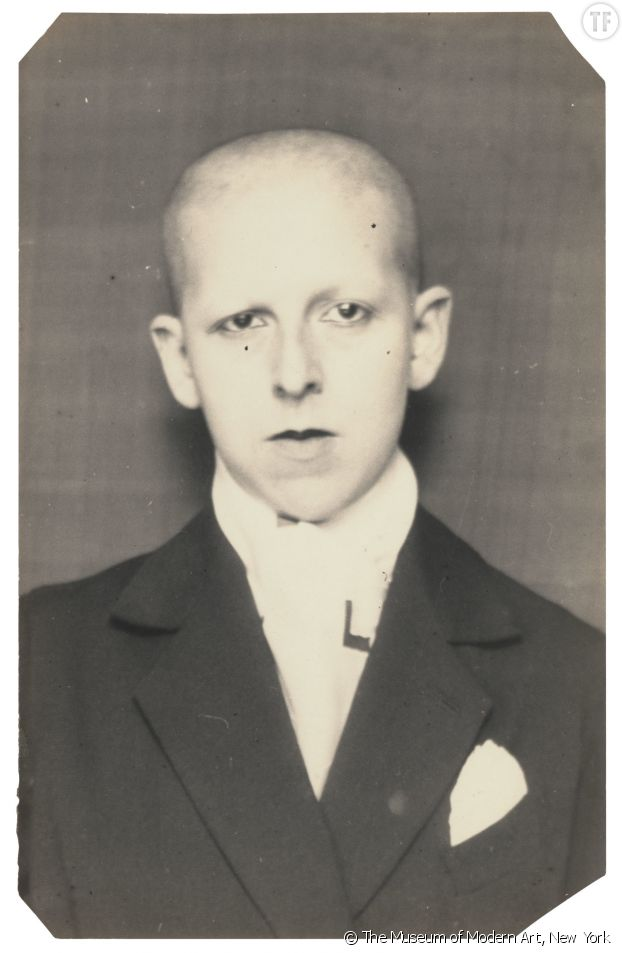 Portrait de l'artiste Claude Cahun