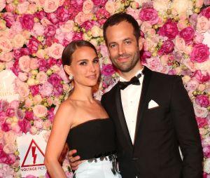 """Natalie Portman a rencontré le danseur français Benjamin Millepied sur le tournage de """"Black Swan"""" en 2009. Parents d'un petit Aleph, ils attendent actuellement leur deuxième enfant."""