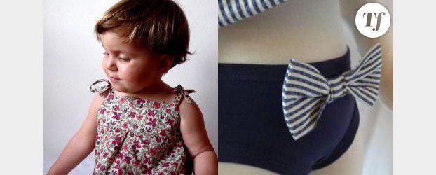 Les vêtements pour enfants de Mademoiselle Clème