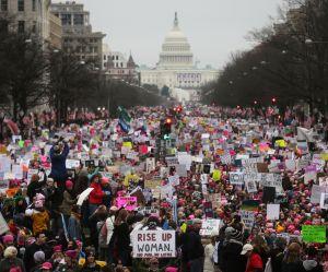 Women's March : des millions de femmes contre le recul des droits et des idées