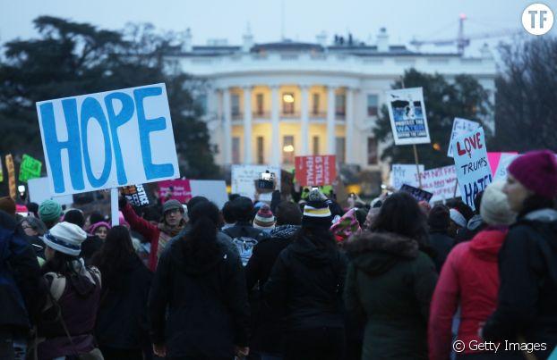 La Women's March à Washington