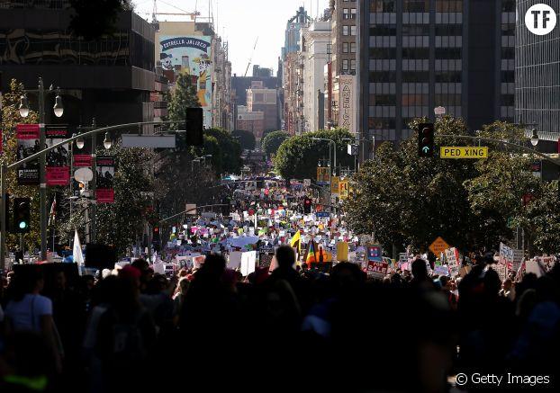La Women's March à Los Angeles