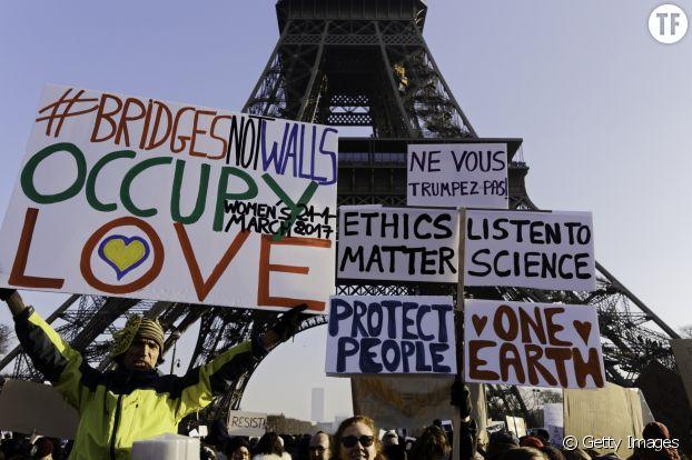 La Women's March à Paris
