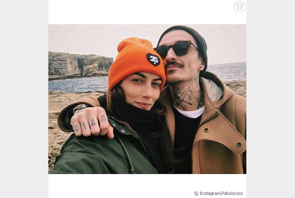 Guillaume Sanchez et sa copine Paloma Coquant