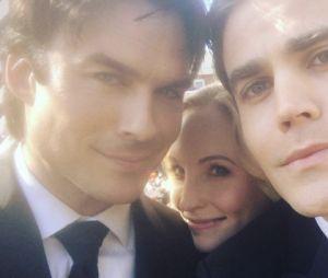 Vampire Diaries saison 8 : les photos émouvantes du tournage du series finale
