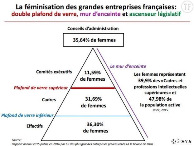 La fénimisation des entreprises françaises