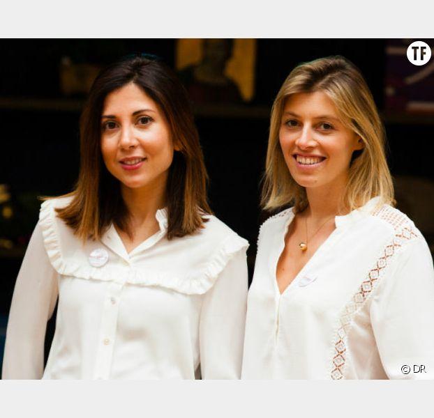 Joy Solal et Charlotte Sieradzki, les deux créatrices de Cook Angels