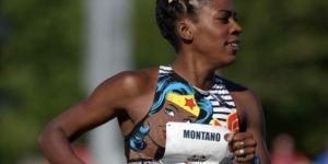 Cette athlète a couru le 800 mètres enceinte et en top Wonder Woman