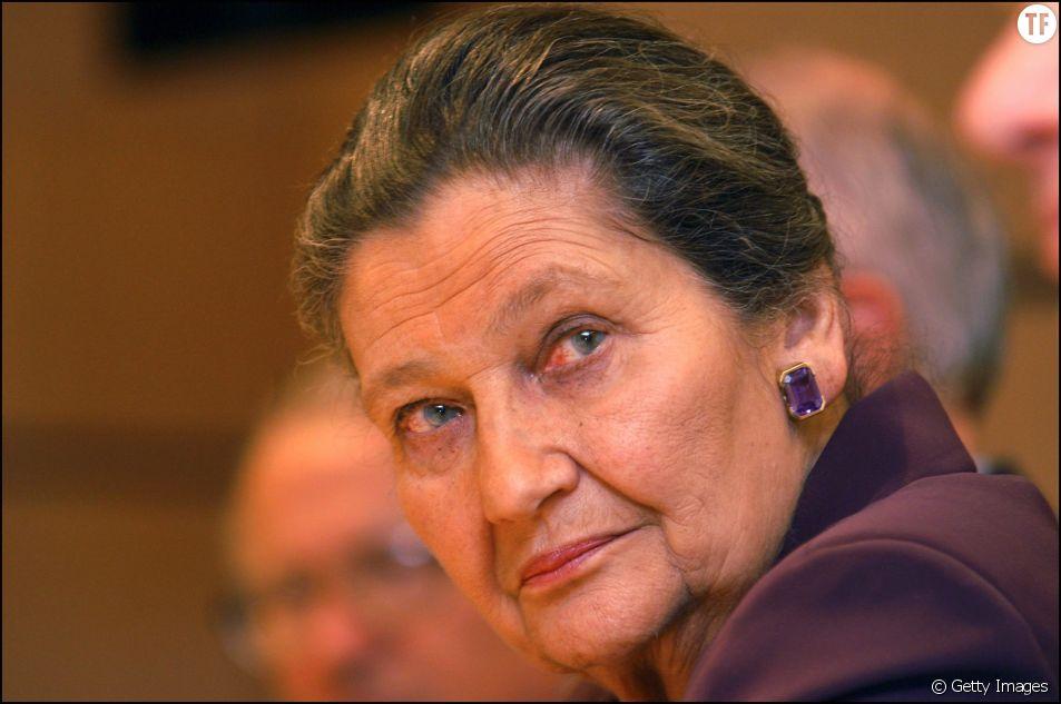 Simone Veil en mars 2006