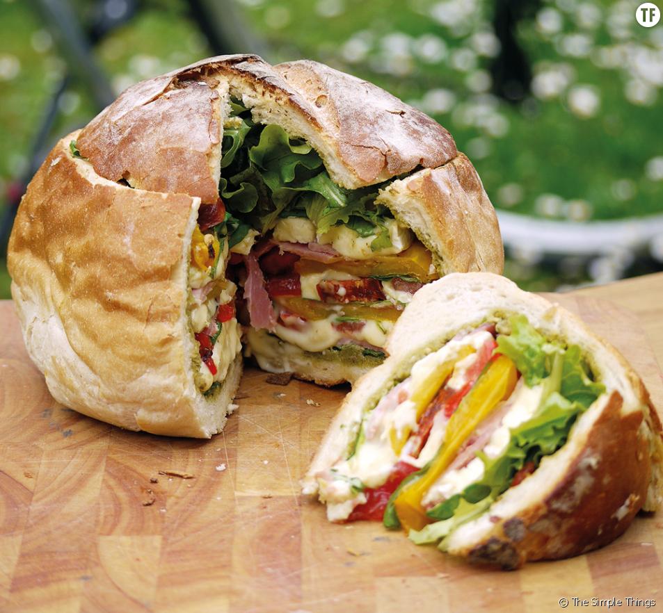 Pique-nique : la recette du pain surprise