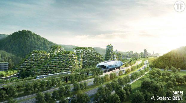 La ville-forêt de Liuzhou en Chine