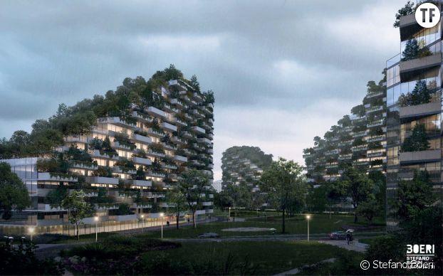 La ville-forêt de Liuzhou dessinée par Stefano Boeri