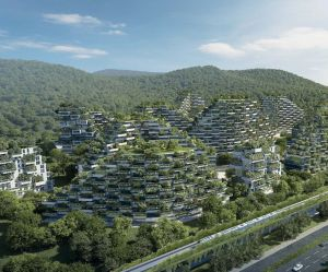 """La Chine construit une """"ville-forêt"""" pour lutter contre la pollution"""