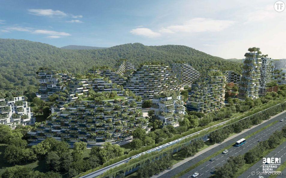 La ville-forêt de Liuzhou en Chine dessinée par Stefano Boeri