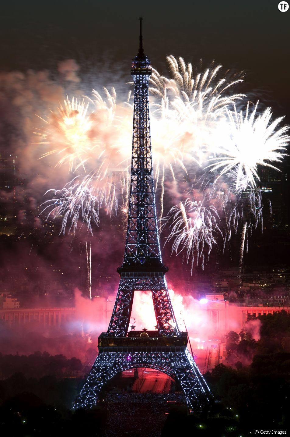 Le feu d'artifice 2017 en direct et en replay