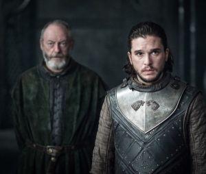 Le regard de Jon face à Daenerys