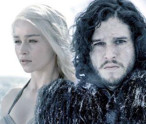 Game of Thrones saison 7 (Kit Harrington et Emilia Clarke)