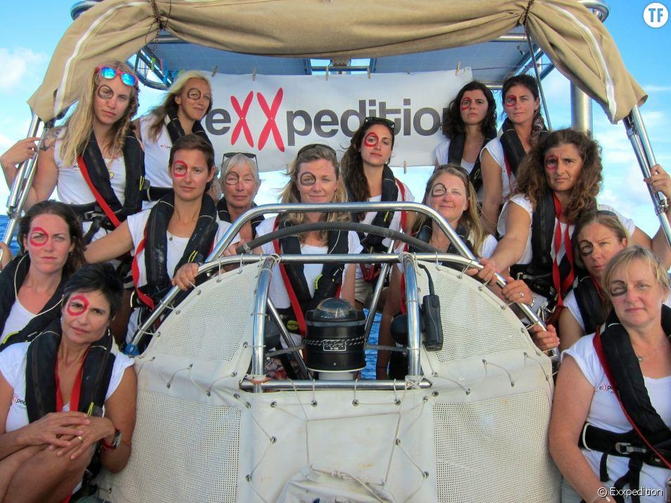 L'équipage 100% d'Exxpedition en lutte contre la pollution des oceans