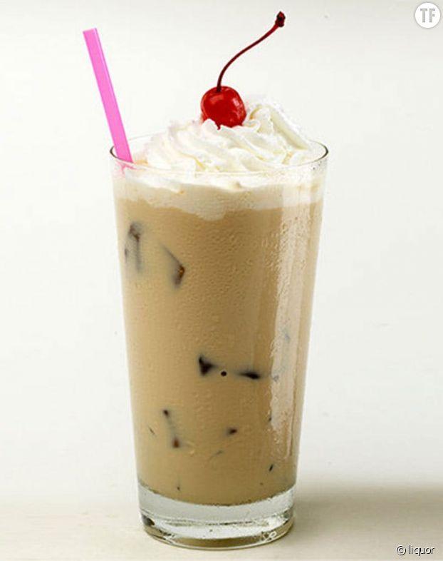 Crème de rhum et café glacé