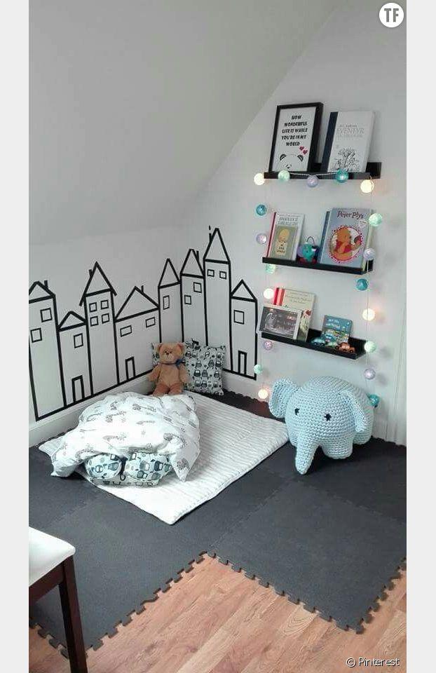 Masking tape chambre d'enfant