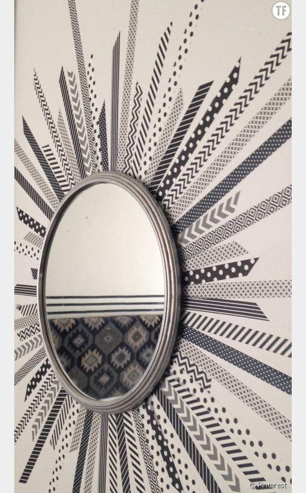 Masking tape miroir