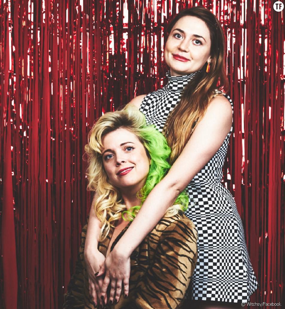 Penelope Gazin et Kate Dwyer, fondatrices de la société Witchsy