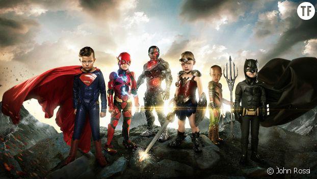 Des enfants malades deviennent les héros de Justice League