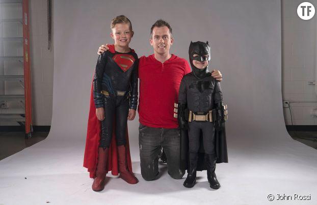 John Rossi et les petits super-héros