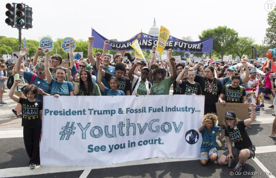 Climat : l'initiative incroyable de ces (très) jeunes américains militants
