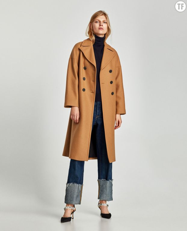 Manteau zara collection hiver 2018