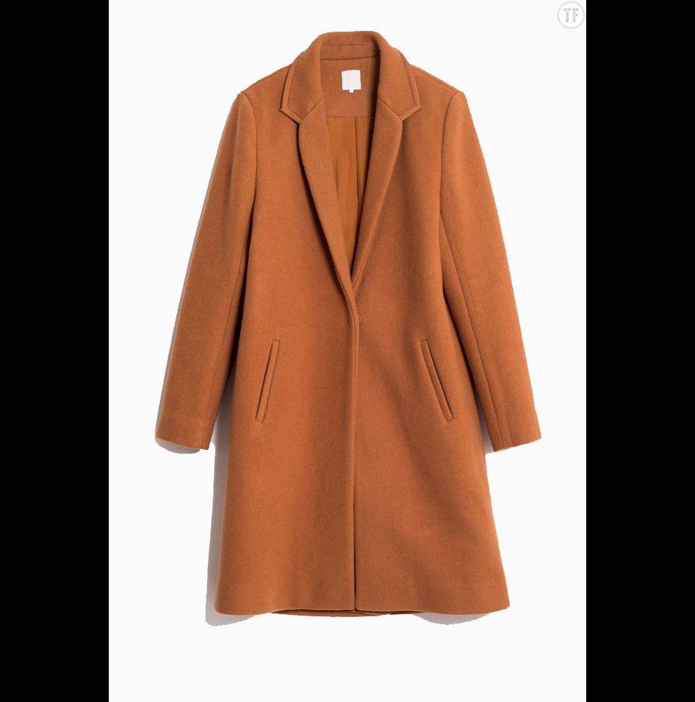 Manteau d'homme camel Karl Marc John, 199€