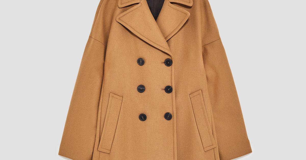 Manteau laine femme zara