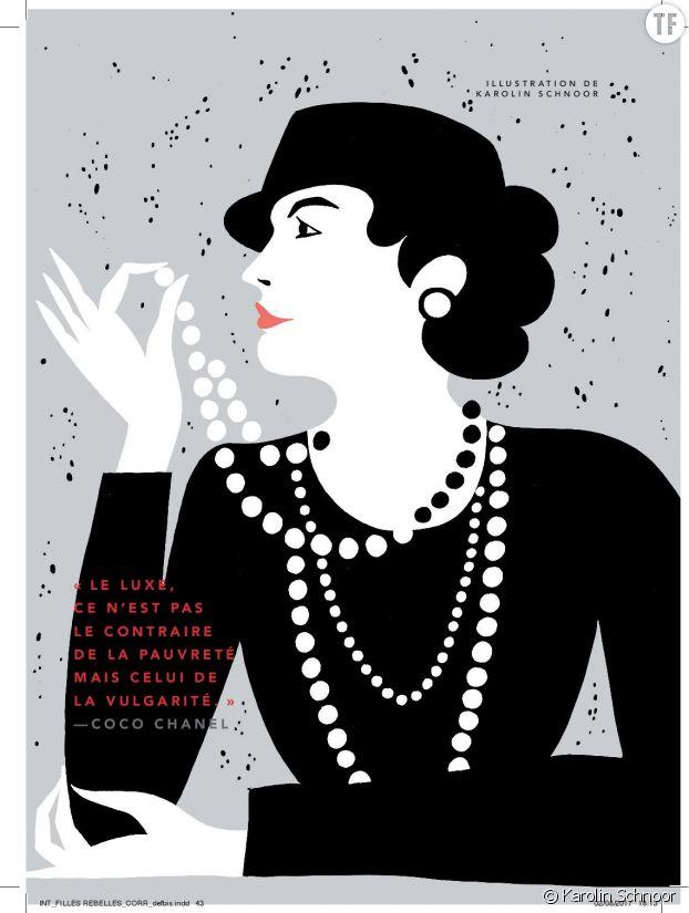 Coco Chanel par Karolin Schnoor