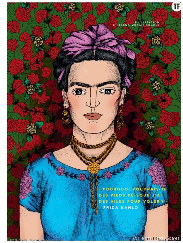 Frida Kahlo par Helena Morais Soares