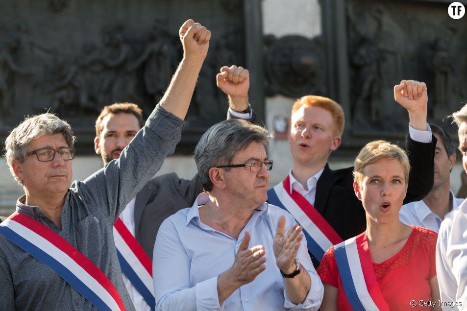 Les députés de la France Insoumise le 3 juillet 2017 à Paris