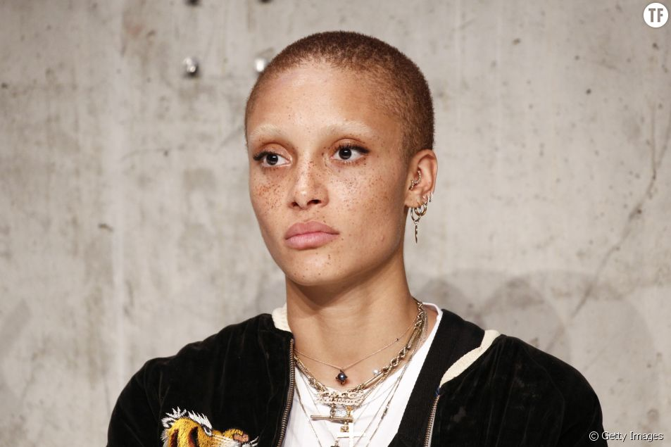 Le top model féministe Adwoa Aboah au Bread & Butter by Zalando en juin 2017 à Berlin