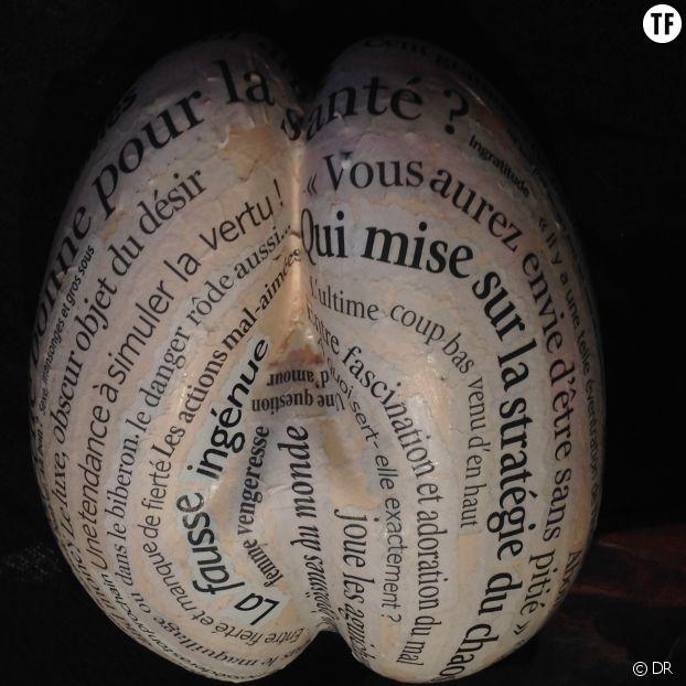 """La Belle salope"" de Martine Seguy."