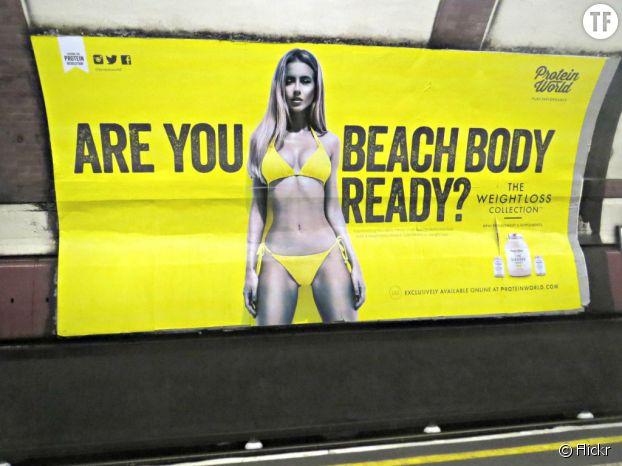 À Londres, les internautes protestent contre la censure de cette pub pour collants