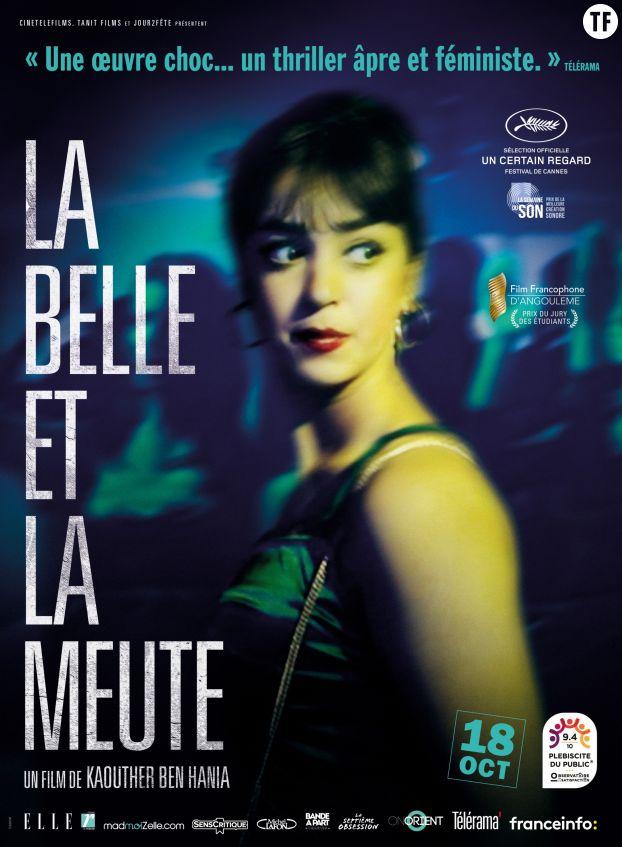 """Affiche """"La Belle et la Meute"""""""