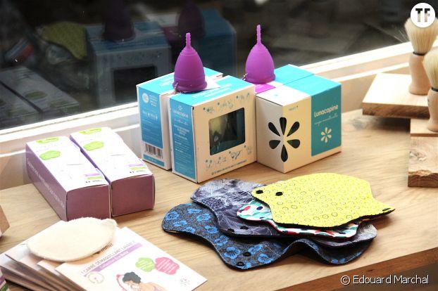 Cups menstruelles, et serviettes hygiéniques recycables à la Maison du Zéro Déchet